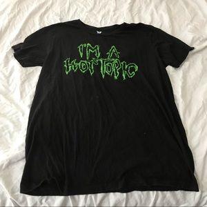I'm a Hot Topic tee shirt